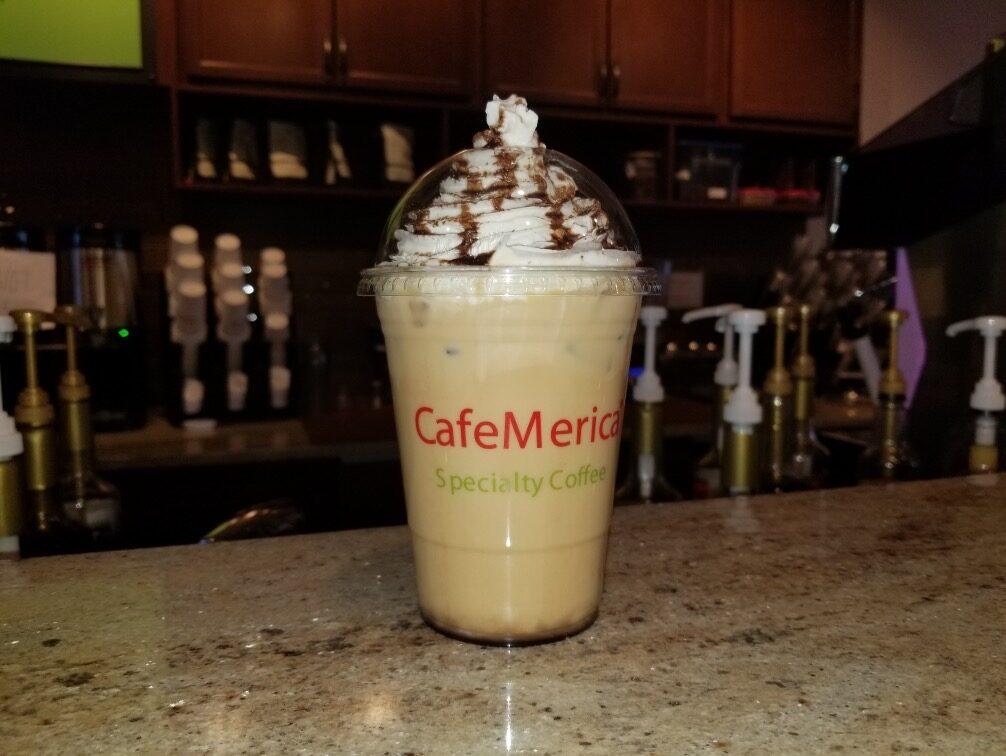 Caramel Cafe Frappe